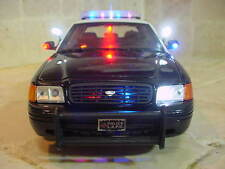 "1/18 Scale Diecast LAPD Los Angeles POLICE K9 K-9  FORD ""WORKING LIGHTS SIREN Ut"