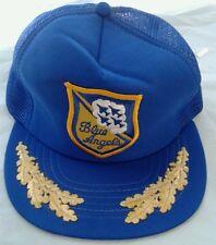 Blue Angels Vintage Mesh Truckers Hat Snapback Baseball Cap Airplanes