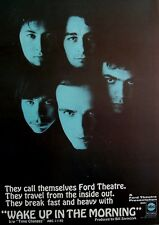 FORD THEATRE 1969 Poster Ad WAKE UP IN THE MORNING