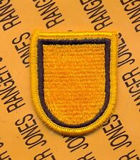 1st Special Forces Group Airborne SFGA #3-B beret flash patch m/e
