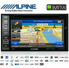 Alpine ine-w990bt Doppio Din Navigatore Satellitare Radio Stereo Auto DVD CD USB IPOD BLUETOOTH