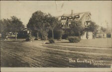 Osterville Cape Cod MA The East Bay Lodge c1910 Real Photo Postcard