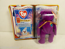 1999 Collectible McDonald's Ty Beanie Babies Millennium Bear MINT NEW ON CARD