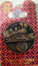 Disney Park Collection -WDW- Bronze Train Medallion - New on Card - # 115540