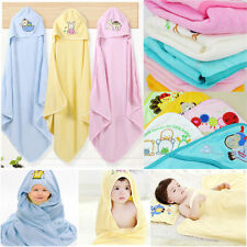 Cute Animal Cartoon Baby Kids Hooded Bathrobe Toddler Boy Girls Bath Towel