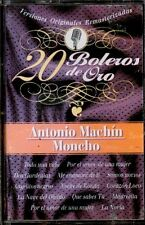 20 BOLEROS DE ORO - Antonio Machin, Moncho - SPAIN CASSETTE Knife Music 1999