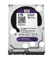 """Western Digital Purple 4TB Surveillance SATA 6Gb/s 64MB 3.5"""" Drive (Internal)"""