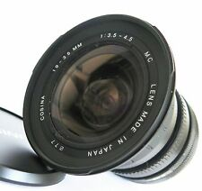 Cosina 19-35mm f/3.5-4.5 MC Manual Focus Lens for Canon FD Mount Excellent++
