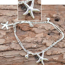 Cool Women Simple Sandal Beach Starfish Ankle Chain Anklet Bracelet Foot Jewelry