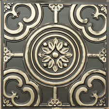 PL50 faux tin PVC 3D classic antique ceiling tiles background panels 10tile/lot