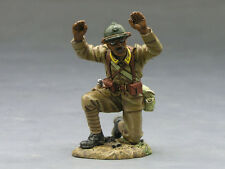 King and Country FOB035  Fields of Battle Surrendering Sengalese A-   MIB