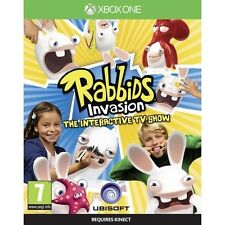 Rabbids Invasion The Interactive TV Show Game Microsoft Xbox One Brand New