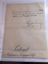 German Emperor Kaiser Wilhelm I. autograph signed signierter Brief mit COA