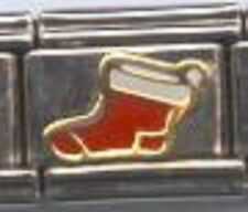 Christmas stocking WHOLESALE ITALIAN CHARM in stainless steel 9MM