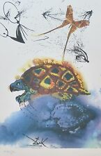 SALVADOR DALI ALICE IN WONDERLAND Mock Turtle SIGNED HAND NUMBERED LITHOGRAPH