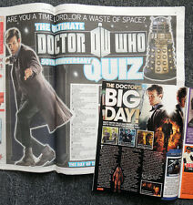 DAILY STAR 23 NOVEMBER 2013 NEWSPAPER & TV GUIDE . DOCTOR WHO 50TH ANNIVERSARY