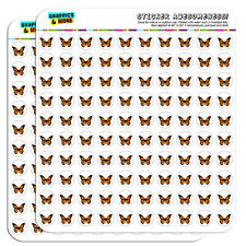 """Monarch Butterfly 0.5"""" Scrapbooking Crafting Stickers"""
