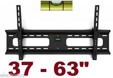 "37"" 63 LED TV Wall MOUNT Flat Screen TILT w/LEVEL 48,52 55 60 42 46 40 SHARP RCA"