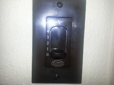 Old Jacksonville 4 Speed Ceiling Fan Slider Wall Control BROWN NEW