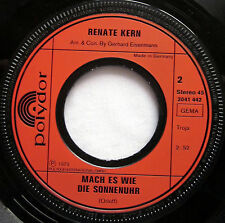 """7"""" Vinyl Single: ANDIAMO, AMIGO - Renate Kern"""