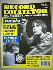 Record Collector Magazine. Issue 202. June 1996. Oasis, Football Crazy, Hawkwind