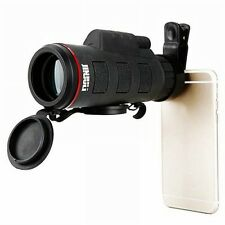 JINJULI 35 x 50 Monocular Portable Porro BAK - 4 Prism HD Telescope with Mobile