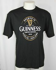 New GUINNESS Stout BEER HARP Limited Edition 2012 Dublin Ireland T Shirt Men XXL
