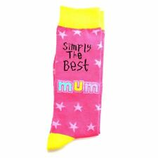 Mums Birthday Gifts Simply The Best Socks Polyester Adult Size Christmas Gifts