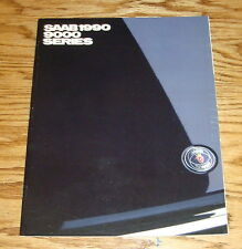 Original 1990 Saab 9000 Series Sales Brochure 90