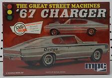 1967 STREET OUTLAWS DODGE BOYS CHARGER DRAG REBELLION MOPAR 67 FS  MPC MODEL KIT