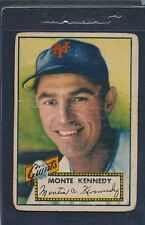 1952 Topps #124 Monte Kennedy Giants Poor 52T124-33116-2