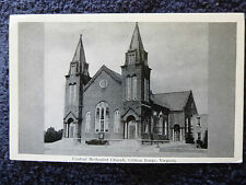 1940's The Central Methodist Church in Clifton Forge, Va Virginia PC