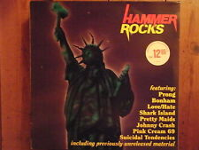 "LP - V.A. HAMMER ROCKS  Suicidal Tendencies, Pretty Maids, Prong  ""TOPZUSTAND!"""