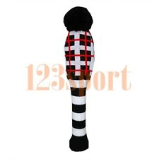 Wool Knitted Golf Driver Fairway Headcover For Titleist Adams Ping Mizuno Honma