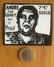 Shepard Fairey・Obey Andre The Giant Has a Posse・OG Sticker Autocollant Vintage