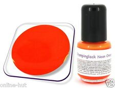 5ml pintura de stamping para konad Nail, sellos barniz, Color: neón Orange
