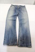 J1419 Levi 's 470 straight fit jeans w27 bleu très bien