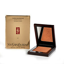 YSL Terre Saharienne Bronzer Medium Brown Bronzing Powder - Cinammon 5 - 10g
