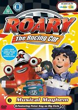* NEW SEALED DVD KIDS TV * ROARY THE RACING CAR - MUSICAL MAYHEM * INC POSTER