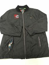 Womens NIKE Black Vintage Nylon Windbreaker Jacket Sz M