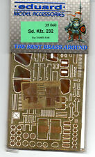 EDUARD 35060 - 1/35 PHOTOETCHED FOTOINCISIONI Sd.Kfz.232 (TAMIYA)
