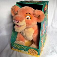 THE LION KING hablando Interactivo KIARA Juguete Suave Grande Caja Original