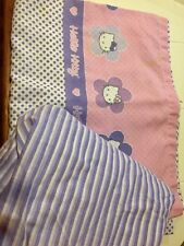 Vintage Hello Kitty twin sheet set