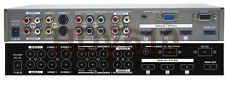10-In-1 HDMI Video Processor Switcher W/ RCA SV Component RGB VGA HDMI Inputs