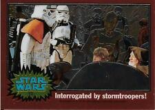 1999 Topps Star Wars Chrome Archives #10 Interrogated By Stormtroopers!