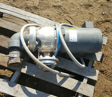 """Used G & L Goulds Stainless Pump Model# 5SH1M2A0  2"""" 7.5 HP Baldor Motor"""