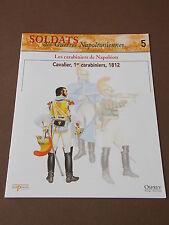 Fascicule N°5 Del Prado Soldat Guerre Napoléon Cavalier Carabinier 1812 Booklet