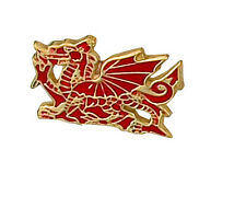 9ct Yellow Gold Welsh Dragon Tie Pin Made To Order in Jewellery Quarter B'ham