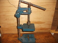 ANTIQUE MINIATURE DRILL PRESS VINTAGE CAST IRON