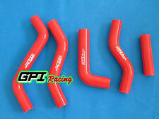 Silicone Radiator Hose Kit FOR Suzuki RMZ250 RM-Z250 2007-2009 2008 07 .RED